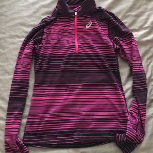 ASICS long sleeved athletic top